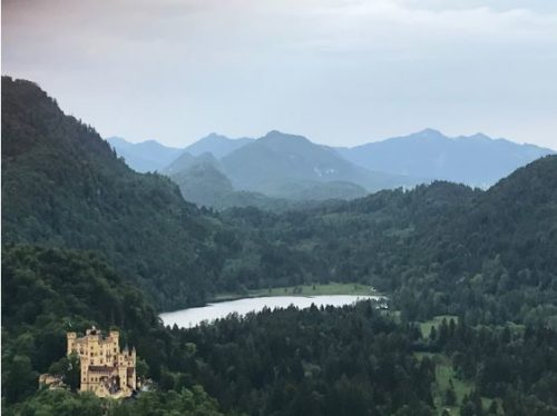 Students toured Hohenschwangau Castle (pictured above) and Neuschwanstein Castle in the Alps.