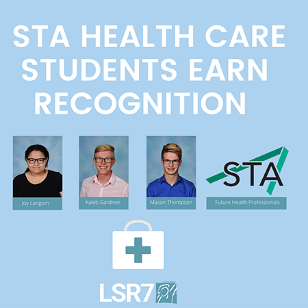STA health care students earn recognition